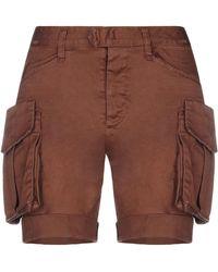 DSquared² Shorts & Bermuda Shorts - Brown