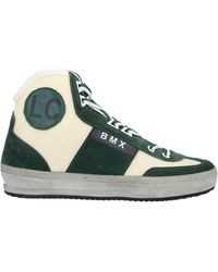 Leather Crown High-tops & Trainers - Green