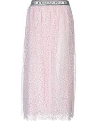 Ermanno Scervino Long Skirt - Pink