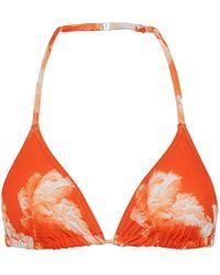Orlebar Brown Bikini Top - Orange