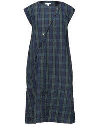 Engineered Garments Midi Dress - Blue