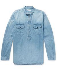 Nonnative Camisa vaquera - Azul