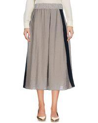 Jijil - 3/4 Length Skirts - Lyst