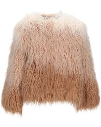 Clips Teddy Coat - Natural