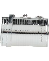 MM6 by Maison Martin Margiela Cross-body Bag - Metallic