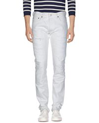 Fabric-Brand & Co. Denim Pants - White