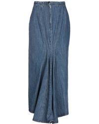 Michael Kors Denim Skirt - Blue