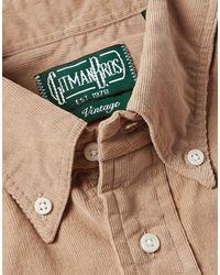 Gitman Vintage Chemise - Neutre