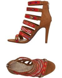 Jessica Simpson Erienne Strappy Sandal - Brown