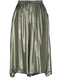 Bruno Manetti 3/4 Length Skirt - Green