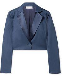 Fleur du Mal Suit Jacket - Blue