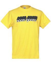 Noon Goons T-shirt - Yellow
