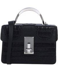 the VOLON Cross-body Bag - Black
