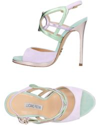 Luciano Padovan - Sandals - Lyst