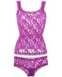 Hanky Panky Underwear Set - Purple