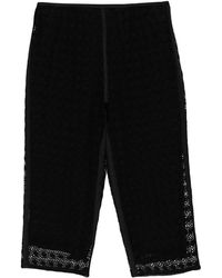 Marc Jacobs 3/4-length Trousers - Black