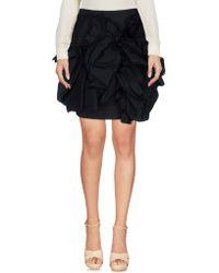 DSquared² Knee Length Skirt - Black