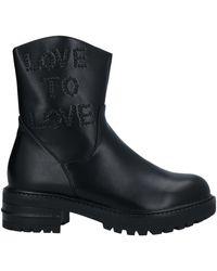 Gai Mattiolo Ankle Boots - Black
