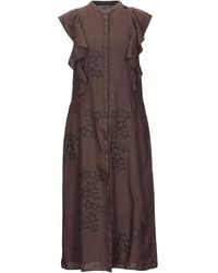 Saucony 3/4 Length Dress - Brown