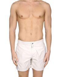 Brunello Cucinelli Swim Trunks - White