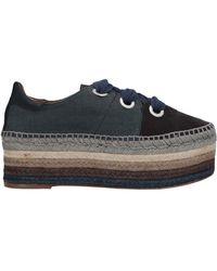 Chloé Lace-up Shoe - Gray