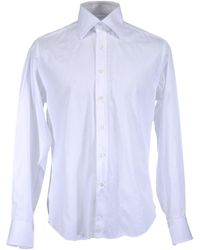 Bagutta Long Sleeve Shirts - White