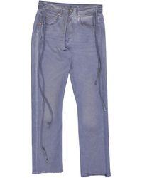 Vyner Articles Denim Pants - Blue