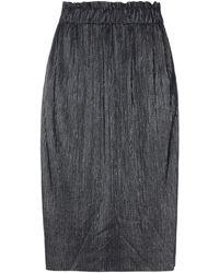 Caractere 3/4 Length Skirt - Black