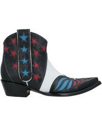 Jessie Western Ankle Boots - Black