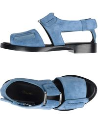 3.1 Phillip Lim Sandale - Blau