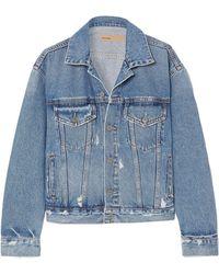 GRLFRND Denim Outerwear - Blue