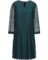 Suncoo Short Dress - Green