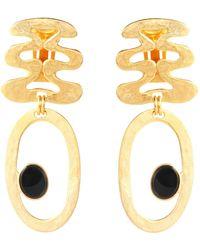 Ben-Amun Earrings - Metallic