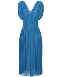 P.A.R.O.S.H. Knee-length Dress - Blue