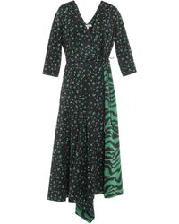 Dorothee Schumacher Midi Dress - Green