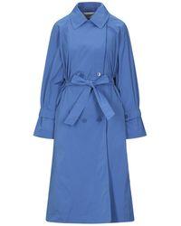 Marella Lange Jacke - Blau