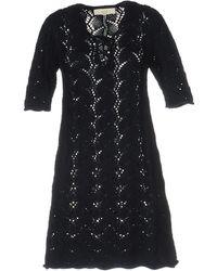Vanessa Bruno Athé - Short Dress - Lyst