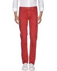 Care Label Pantalon en jean - Rouge