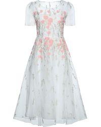 Blugirl Blumarine Midi Dress - White