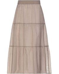 Peserico Long Skirt - Multicolour