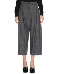 Erika Cavallini Semi Couture - 3/4-length Shorts - Lyst