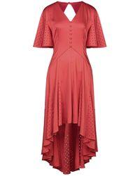 Huishan Zhang Midi Dress - Red