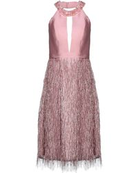 ATELIER NICOLA D'ERRICO Knee-length Dress - Pink