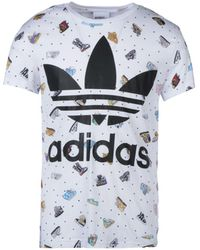 Jeremy Scott for adidas - T-shirts - Lyst