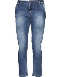 Yan Simmon Denim Trousers - Blue