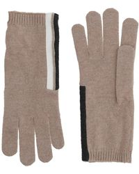 Brunello Cucinelli Gloves - Natural
