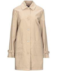 Trussardi Overcoat - Natural