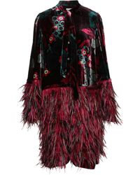 Dries Van Noten Robe courte - Multicolore