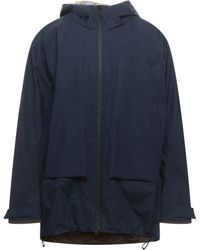 Aspesi Lange Jacke - Blau