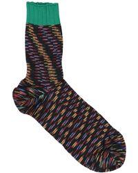 M Missoni Socks & Hosiery - Black